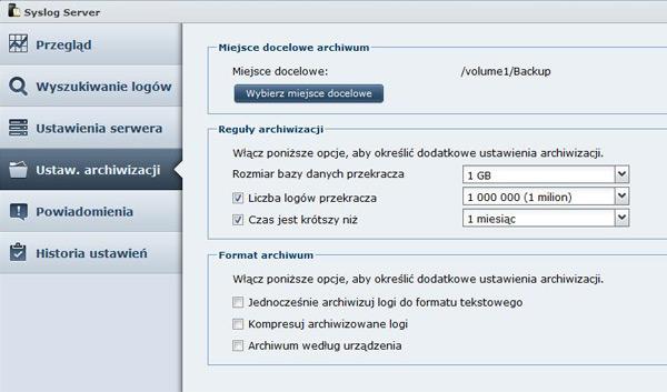 DSM Syslog Server