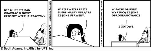 Dilbert 3 wirtualizacja